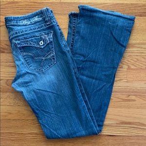Big Star Maddie Mid Rise Bootcut Jeans 29XXL